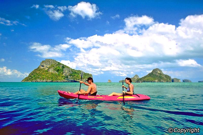 Koh Samui Thailand Kayak