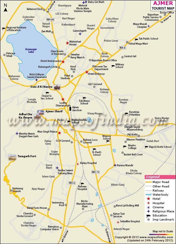 Ajmer India Tours