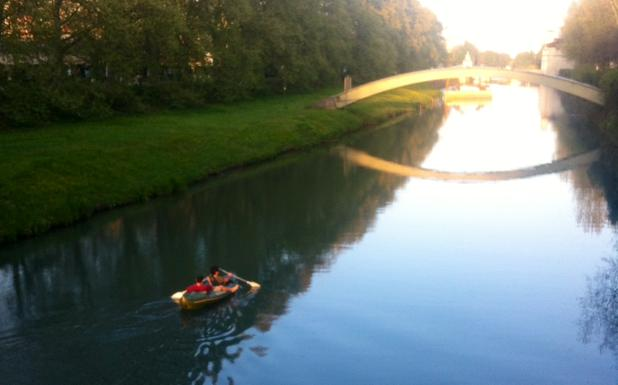 Abano terme Italy Kayak