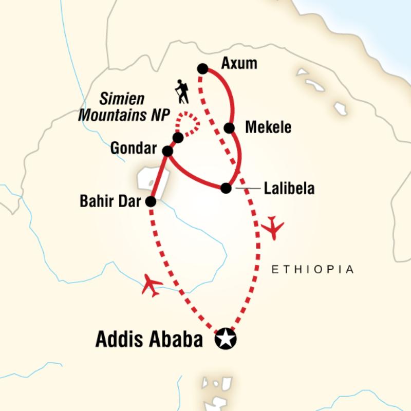 Addis Ababa Ethiopia Kayak
