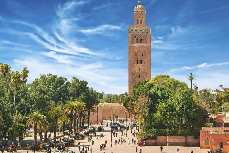 Marrakech morocco Bus Tours