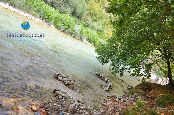 Thesprotia Region Greece Kayak
