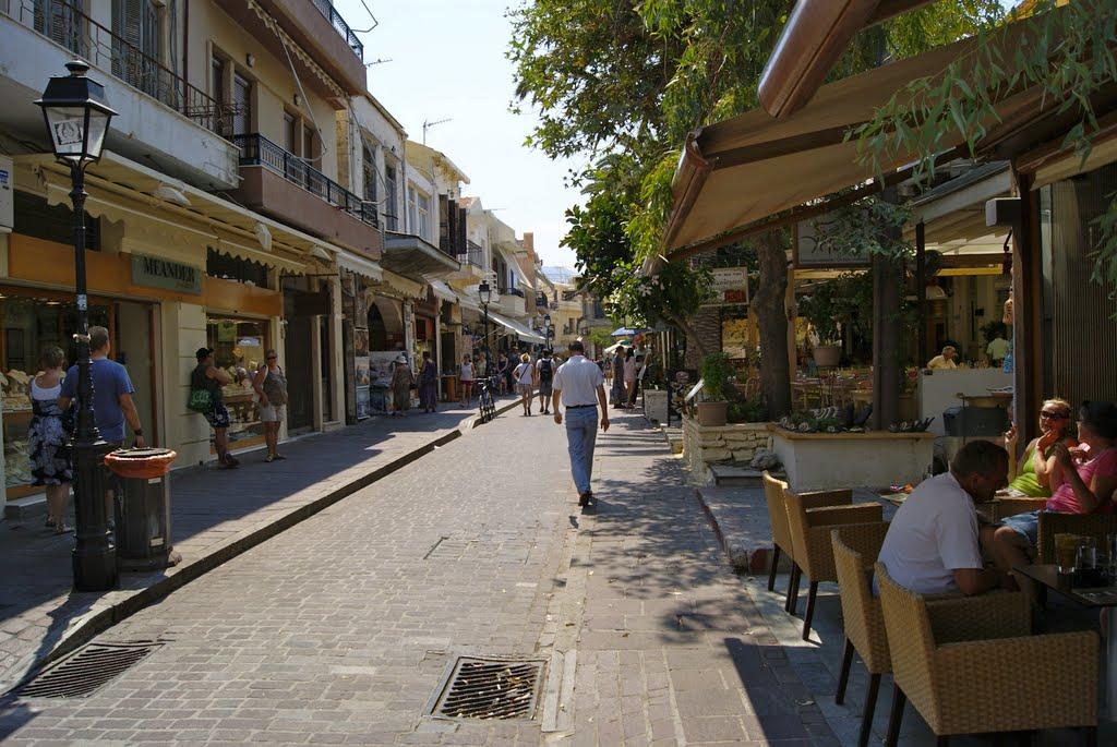 Rethymnon Prefecture greece Shopping