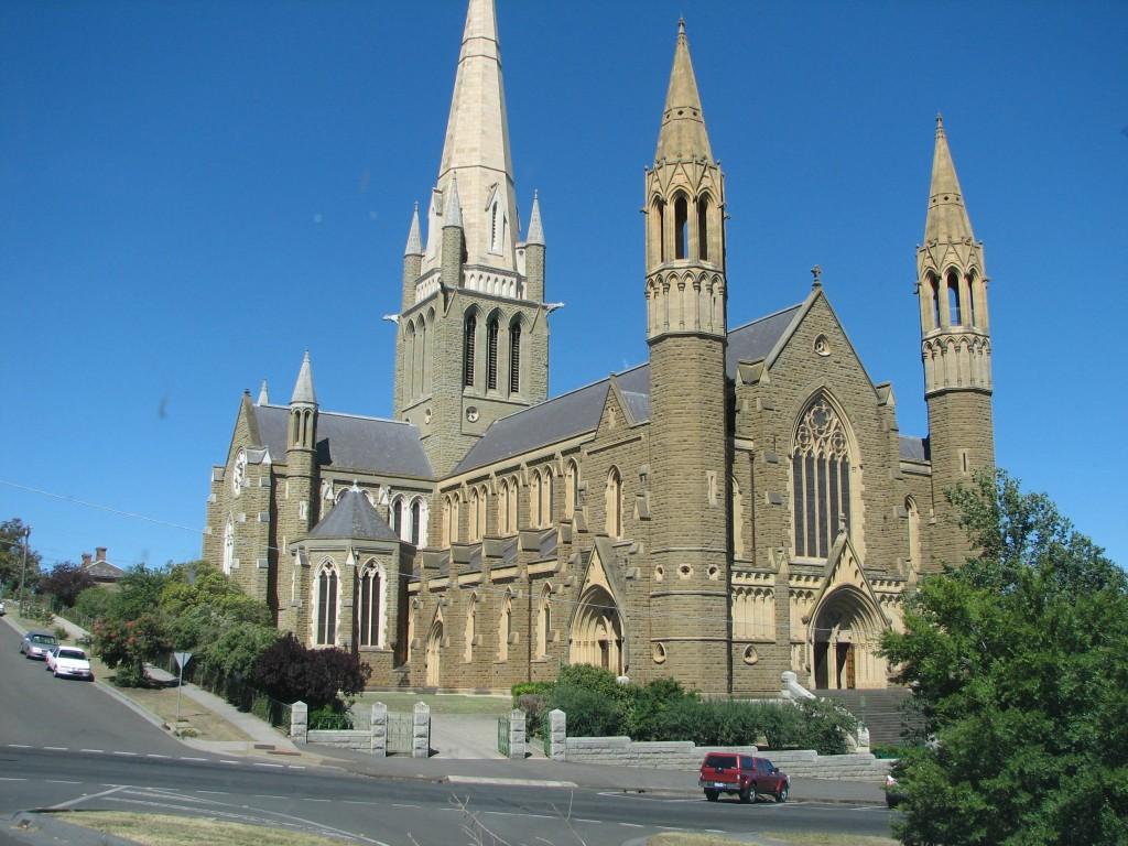 Bendigo Australia Cathedral