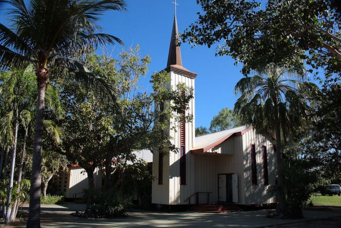 Broome Australia Cathedral