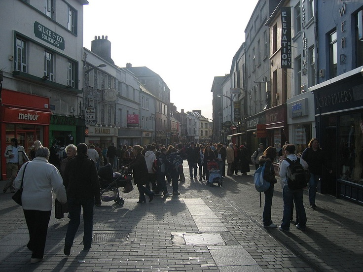 Galway Europe Shopping