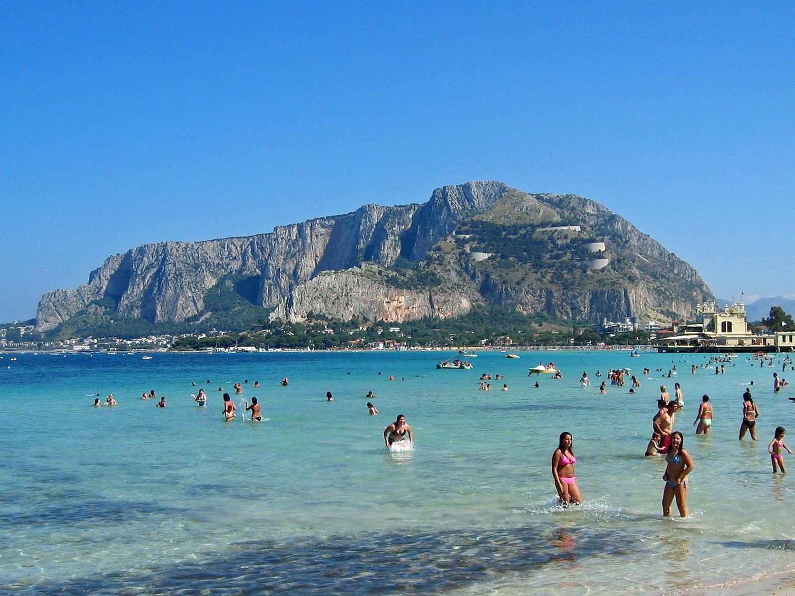 Mondello Europe Beaches