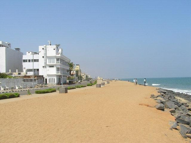 Puducherry Asia and Middle East Beaches
