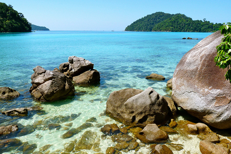 Ko Phra Thong Asia and Middle East Beaches
