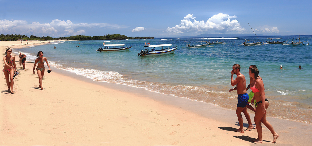 Nusa Dua Peninsula Indonesia Beaches