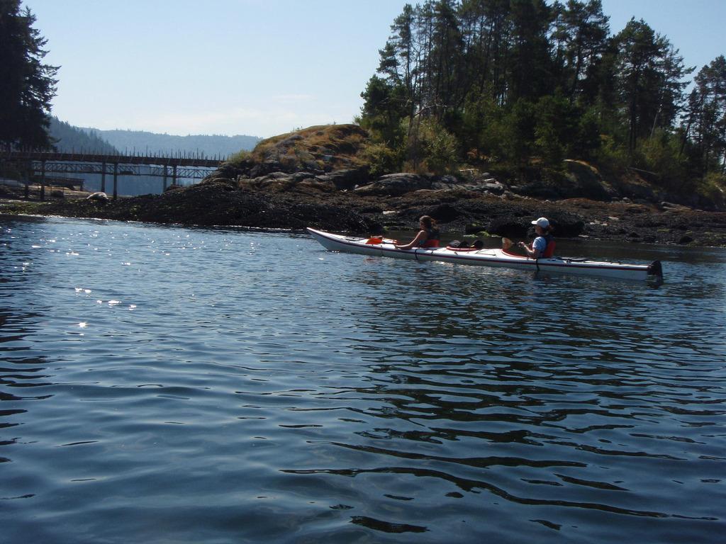North Vancouver British Columbia Kayak