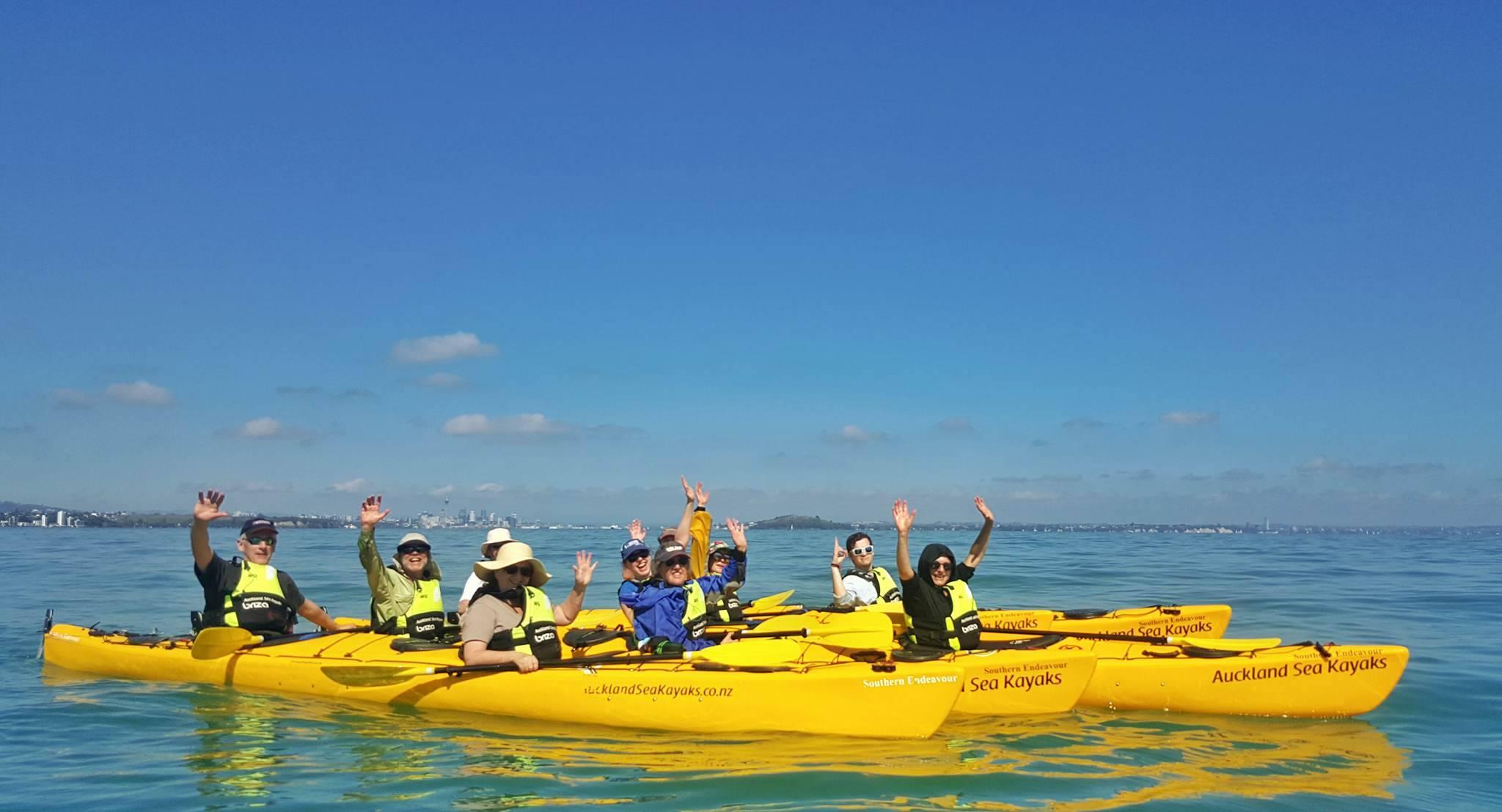Auckland New Zealand Kayak