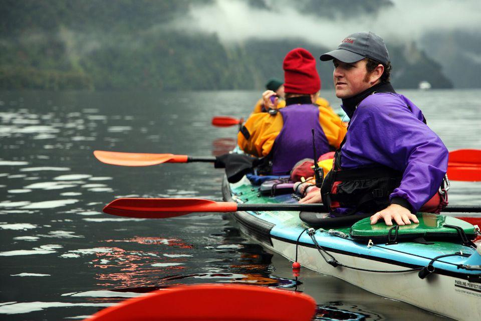 Te Anau New Zealand Kayak