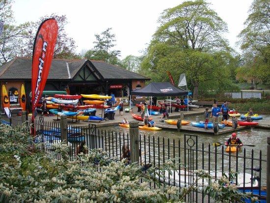 Leamington Spa England Kayak