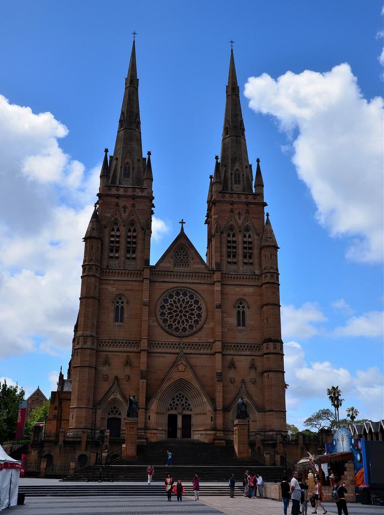 Sydney Australia Cathedral