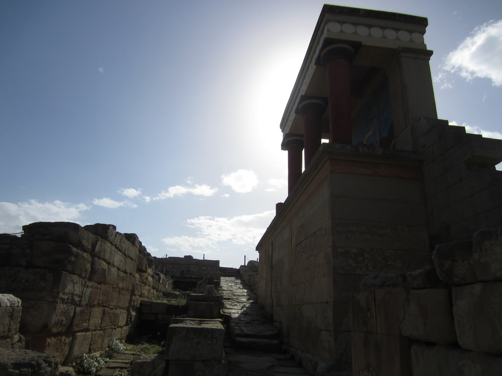 Heraklion Greece Palace