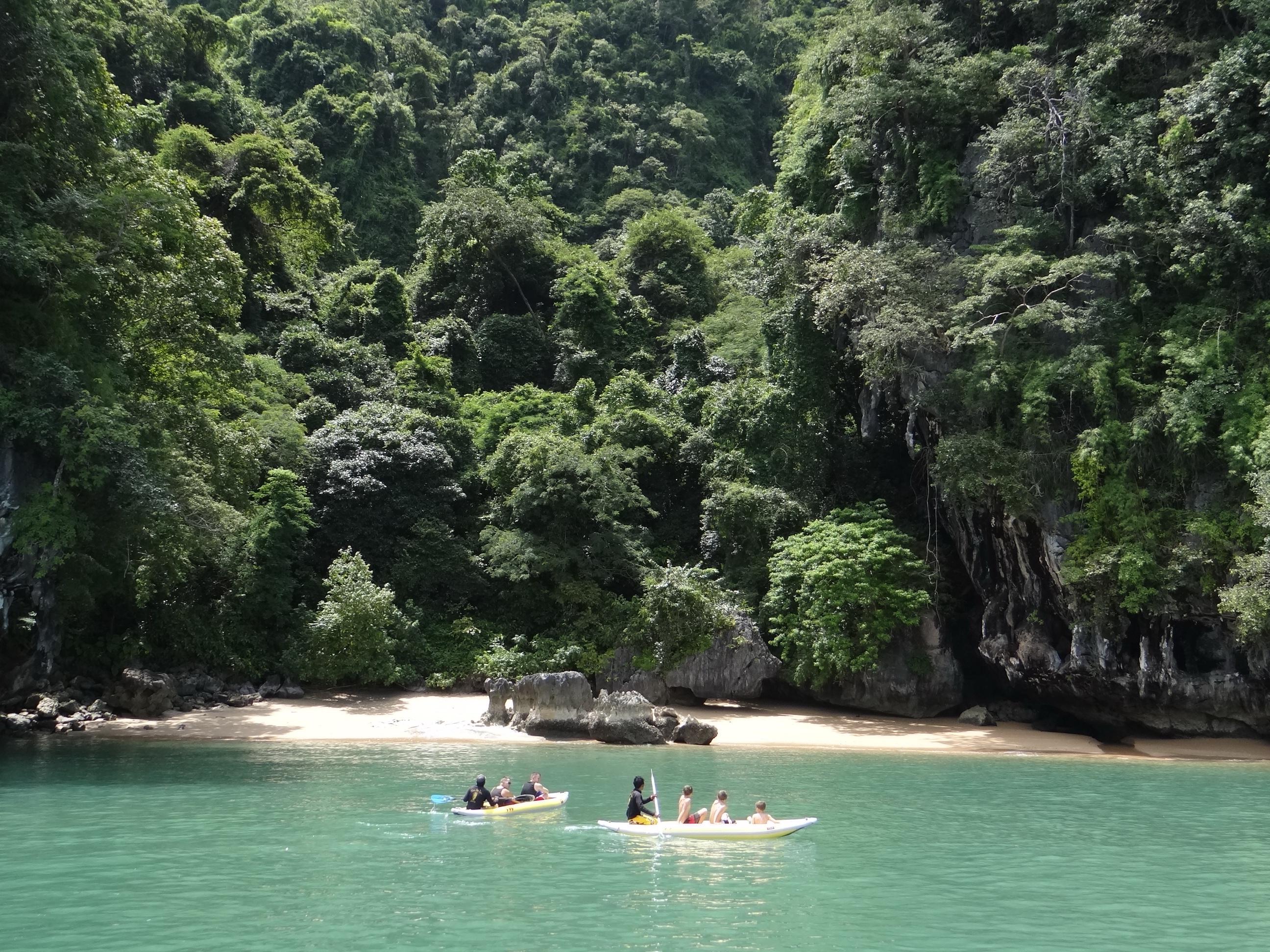 Phuket Thailand Kayak