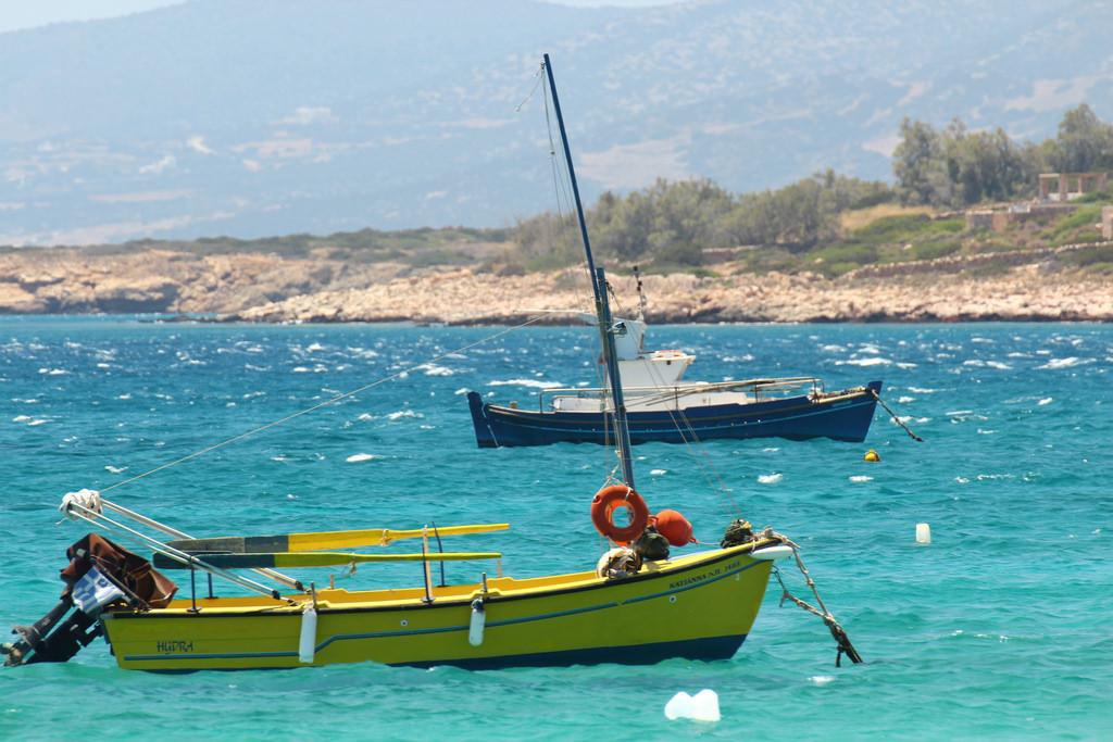 Paros Greece Kayak