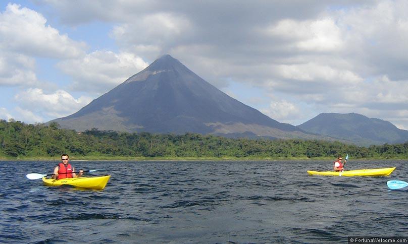 Nuevo Arenal Tilaran Costa Rica Kayak