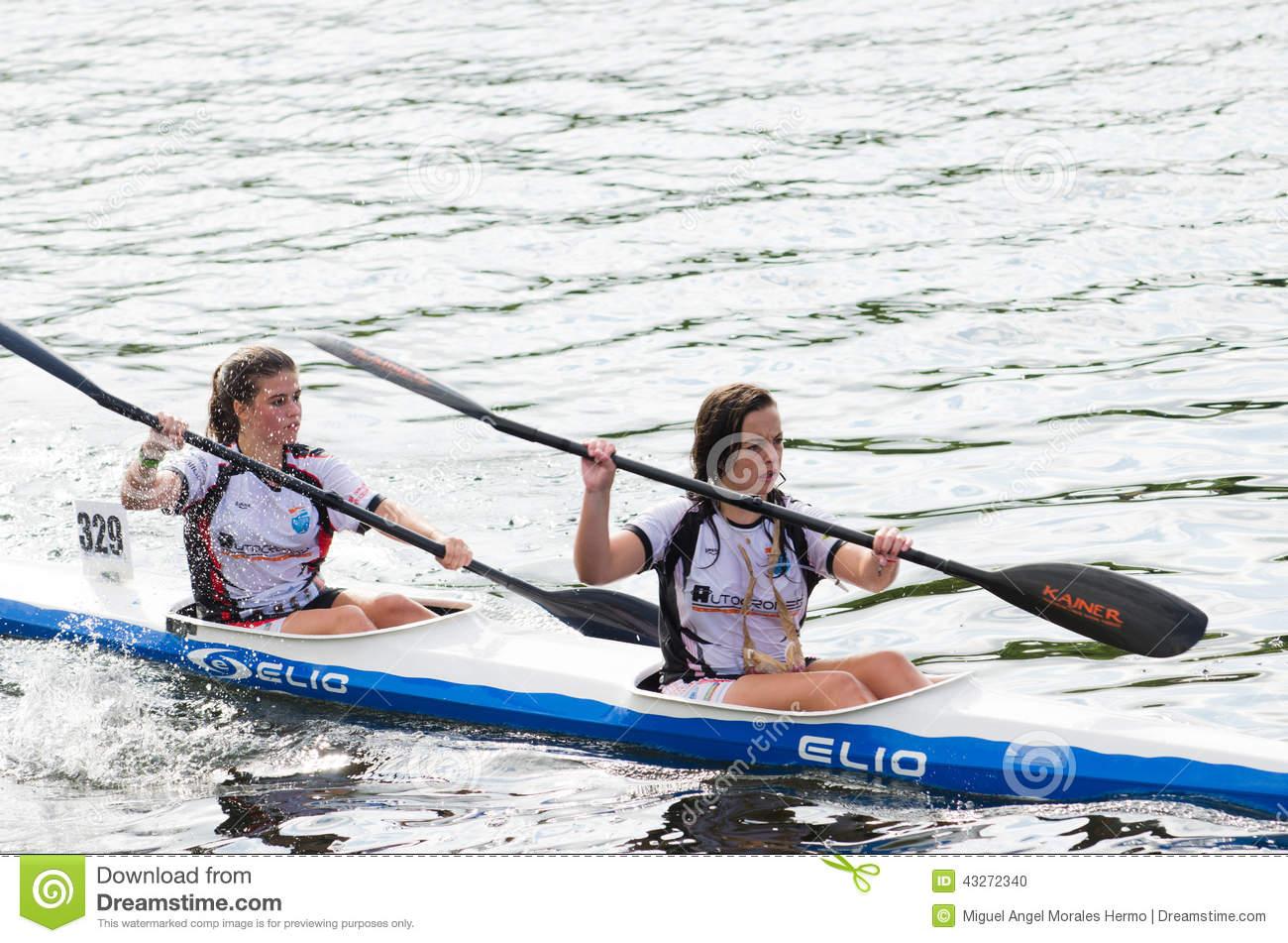 Pontevedra Spain Kayak