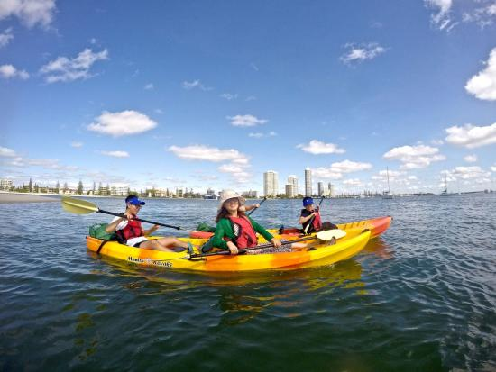 Broadbeach Australia Kayak