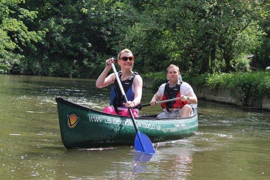 Berkshire England Kayak
