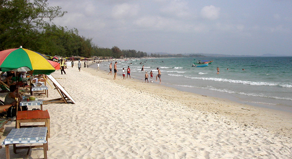 Sihanoukville Cambodia Beaches