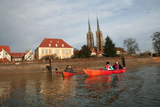 Wroclaw Poland Kayak