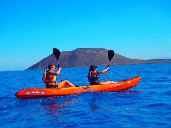 Corralejo Spain Kayak