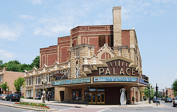 Albany United States Palace