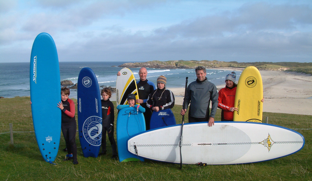 Scotland Surfing
