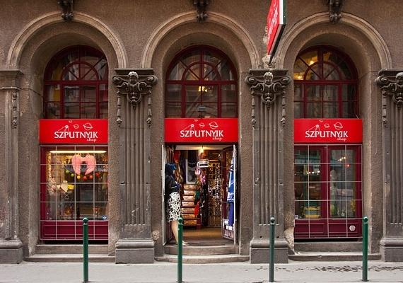 Budapest Hungary Shopping