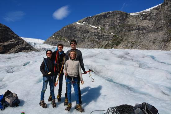 Jostedal National Park Norway Kayak