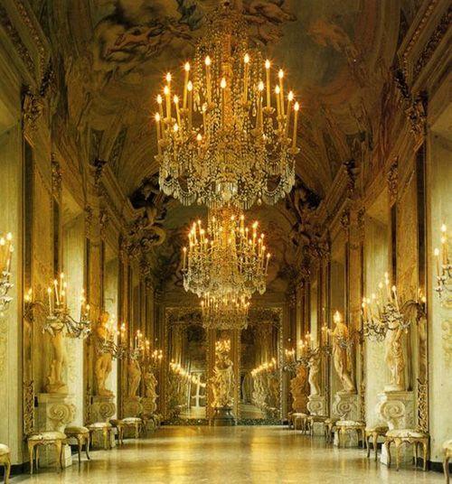 Genoa Italy Palace