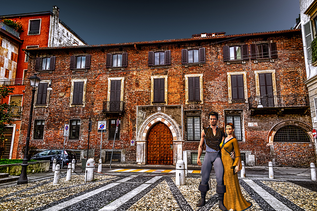 Lake Maggiore Italy Palace