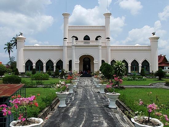 Riau Province Indonesia Palace