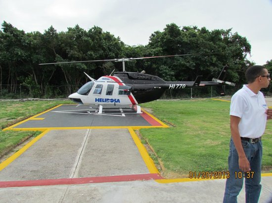 Dominican Republic Helicopter Rides