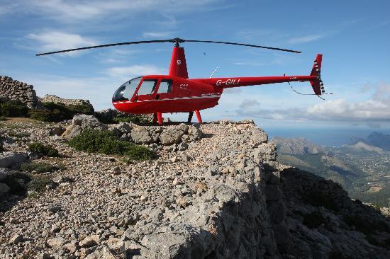 Palma de Mallorca Spain Helicopter Rides