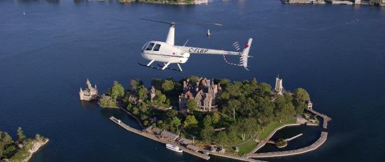 Gananoque Canada Helicopter Rides