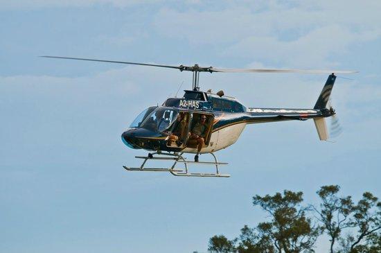 Botswana Helicopter Rides