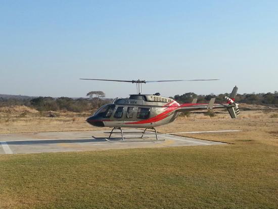 Zimbabwe Helicopter Rides
