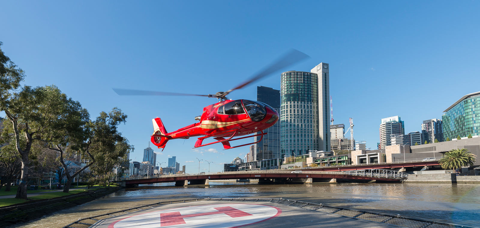 Melbourne Canada Helicopter Rides