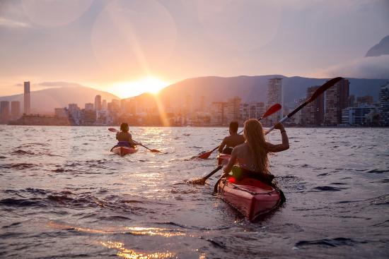 Benidorm Spain Kayak
