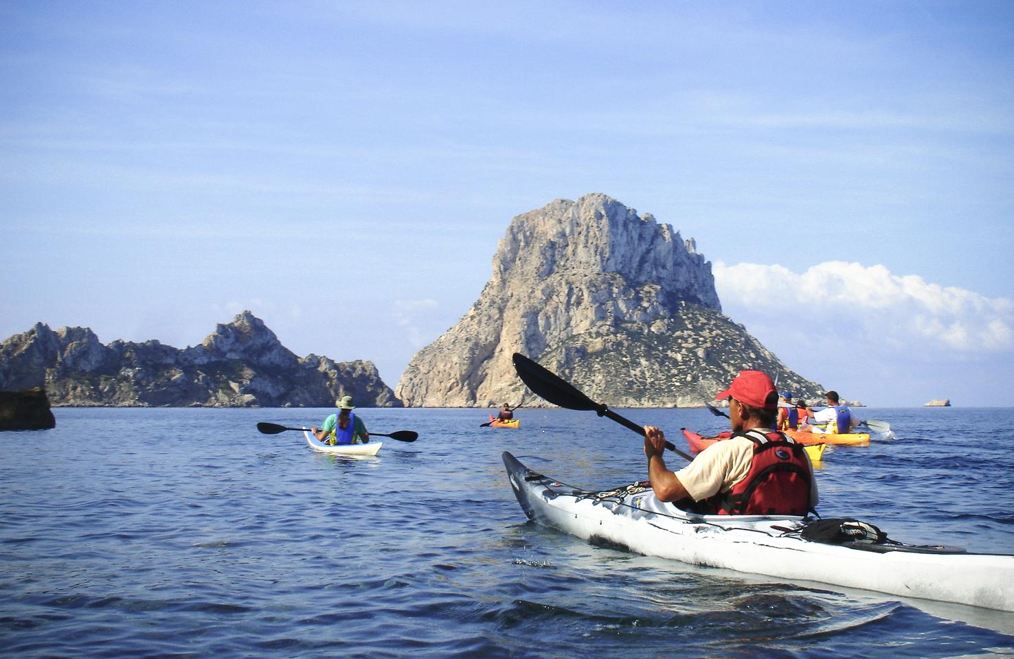 Ibiza Spain Kayak