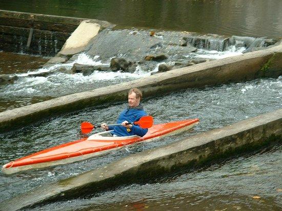 Dinant Belgium Kayak