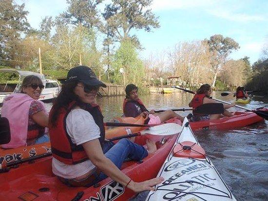Tigre Argentina Kayak