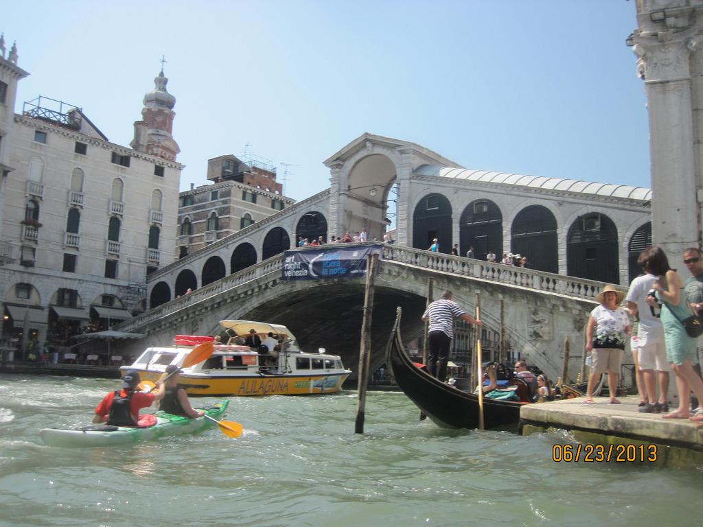 Venice Italy Kayak
