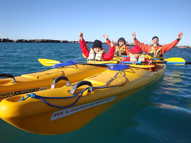 Kaikoura New Zealand Kayak