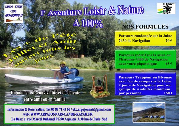 Arpajon France Kayak