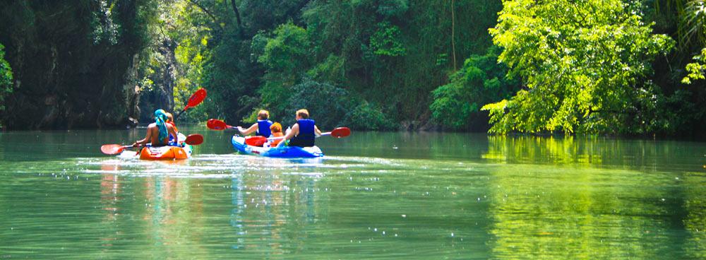 Ao Nang Thailand Kayak